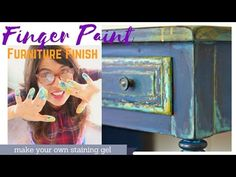 Four color paint layering, blending & a story about ruining antique furniture? - YouTube