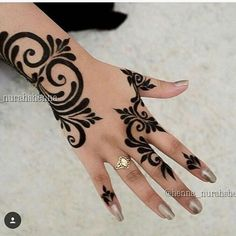 Man And Women Tattoo : Henna Design - Henna Hand Designs, Mehndi Designs Finger, Henna Tattoo Designs Simple, Mehndi Designs For Beginners, Unique Mehndi Designs, Mehndi Designs For Fingers, Beautiful Mehndi Design, Mehndi Designs For Girls, Henna Tattoo Hand