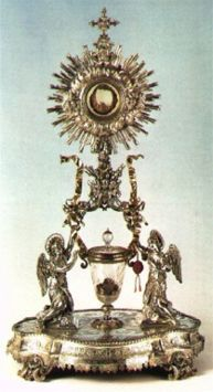 The Sacred Heart of Jesus in the Most Blessed Sacrament