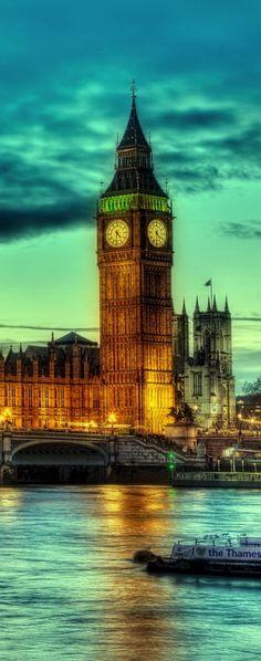 Big Ben & Westminster Abbey, London, UK