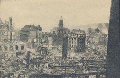 Die Gegend beim Wilhelmsbau nach den Bombenangriffen im Zweiten Weltkrieg Foto: Matthias Kapaun