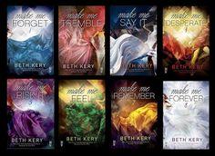 Românticos Books: Beth Kery - Make Me #1 ao #4