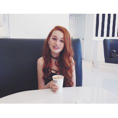 "4,792 Likes, 33 Comments - Madelaine Petsch (@madelame) on Instagram: ""coffee is my religion"""