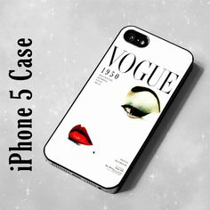 #idolstore on Artfire     #iPhone Case              #IDL5112 #vogue #iPhone #case                       IDL5112 vogue iPhone 5 case                                                   http://www.seapai.com/product.aspx?PID=1274757
