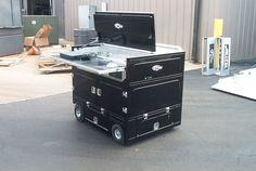 Pit-box style mobile desks anyone?