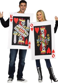 """50 Couples Halloween Costume Ideas - dress up with an adorable couples costume for you and your """"boo!"""" So many his and her Couples Halloween Costumes! Costume Halloween, Couples Halloween, Fete Halloween, Spirit Halloween, Halloween Ideas, Funny Halloween, Halloween 2020, Halloween Crafts, Funny Couple Costumes"""