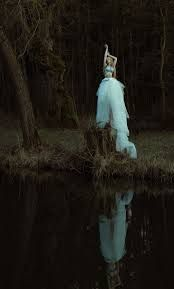 Image result for dark fairytale photoshoot water