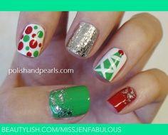 Photos of Holiday Nails   Holiday Nails   MissJenFabulous F.'s (missjenfabulous) Photo ...