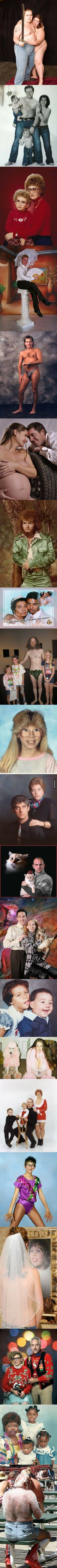 Most awkward family photo I have ever seen... Too much.