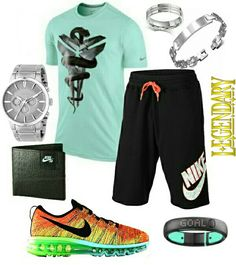 ✤ #stylefromachitownerseye ✤ Men's fashion Nike outfit