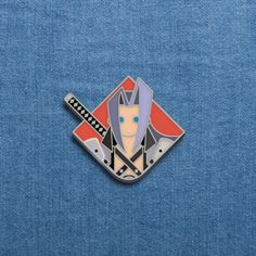 Vintage Official Final Fantasy VII Chocobo Pin Brooch Badge figure