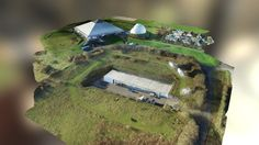 Intech Science Centre Winchester by droneexplorer
