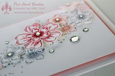 Stampin' Up! by First Hand Emotion: Petite Petals in Pastell