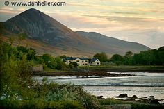 Croagh Patrick, Westport, Co. Mayo, Ireland... it is tradition for Catholics to climb St. Patrick's holy mountain. Legend has it, this is where he performed the miracle of getting rid of all the snakes (as a challenge from the Pagan King).