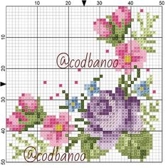 Butterfly Cross Stitch, Cross Stitch Rose, Cross Stitch Flowers, Hardanger Embroidery, Cross Stitch Embroidery, Cross Stitch Designs, Cross Stitch Patterns, Hand Embroidery Flowers, Embroidery Patterns