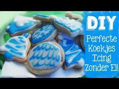 Heerlijke icing recept, perfect voor koekjes, word niet super hard. Mmm lekkere en mooie suiker koekjes als kerst kado