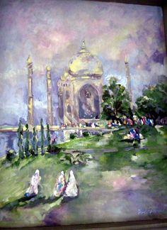 Taj Mahal by Fred Gowland