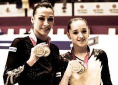 Catalina Ponor and Larisa Iordache