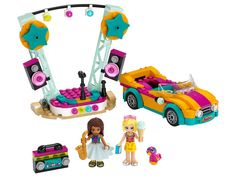 Shop LEGO Friends Andrea's Car & Stage 41390 at Best Buy. Find low everyday prices and buy online for delivery or in-store pick-up. Lego Store, Toys R Us, Lego Sets, Lego Friends Sets, Friends Series, Toy Cars For Kids, All Lego, Crazy Kids, Gifts