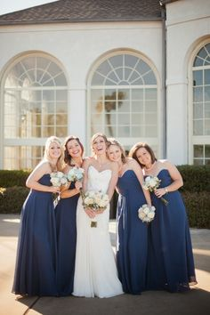 Classic Winter Wedding + Navy Details | bellethemagazine.com ~ Jackie Ray Photography