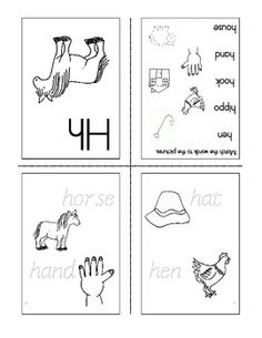 free mini fold up book for the letter d my printables pinterest literacy. Black Bedroom Furniture Sets. Home Design Ideas