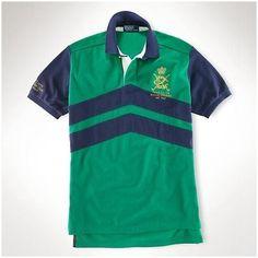 01db59112c25 magasin ralph lauren! Polo Ralph Lauren particulière Classic-Fit 1707  Couleur Rugby-Block