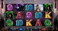 """""""Avalon II"""" Spielautomat von Microgaming ist für echten Helden erschafft! Probiere doch das Microgaming Spielautomat om Onlinecasinohex.de kostenlos zu spielen!"""