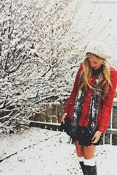Snow, Coats & Scarves