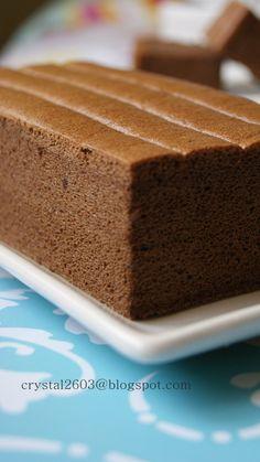 Chocolate Ogura Cake - 可可相思蛋糕