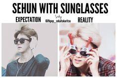 He's perfect either way <3 #Sehun #EXO #EXO-K