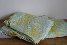 Vintage Jonelle Daisy Chain Curtains in by alltheseprettythings, £20.00