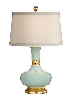Mimi Porcelain Lamp Blue WL-26007