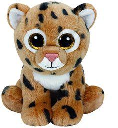 Amazon.com  Ty Classic Freckles The Leopard Plush  Toys   Games 85b7c7951778