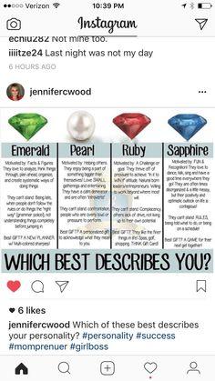 Dani Johnson, Ruby Sapphire, Facts