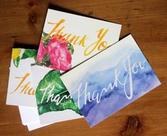 Image of Combo Pack Thank You Cards