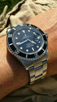 Rolex Submariner 168000 from 1987