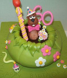 Murray Groundhog What Cake