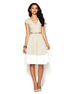 un vestido sencillo que el toque lo puedes dar tu y transformar!