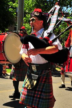 Canada Day Celebrations Cobourg Ontario - our Scottish heritage