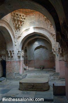 Bei Hamam in Thessaloniki Greece ? Zorba The Greek, The Turk, Ancient Rome, Macedonia, Albania, Ottoman, Greece Thessaloniki, Islamic Architecture, Nymph