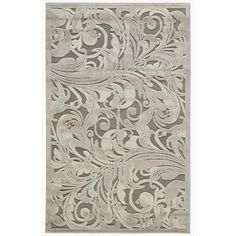 Leaves and vines artfully intertwine in this sophisticated and subtle study of grays and camel that exude a relaxed vibe that's suitable for casual settings. The raised high-low loop construction and creates amazing texture that soft to the touch.