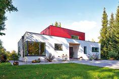 Individuelles Fertighaus in vollendetem Design - http://www.immobilien-journal.de/hausbau-nachrichten/bauherreninterview/individuelles-fertighaus-in-vollendetem-design/