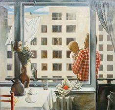 Сергей Соколов - «Воскресный день», 1986 Soviet Art