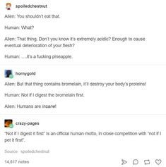 Humans and aliens