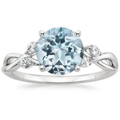 Aquamarine Willow Ring from Brilliant Earth