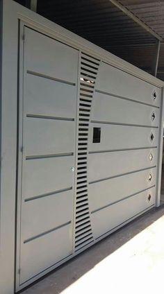 22 Ideas Main Door Design Steel For 2020 Grill Gate Design, House Main Gates Design, Home Door Design, Main Entrance Door Design, Steel Gate Design, Front Gate Design, Door Gate Design, Garage Door Design, Entrance Gates