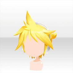 Kagamine Rin & Len   Kagamine Len's Hair