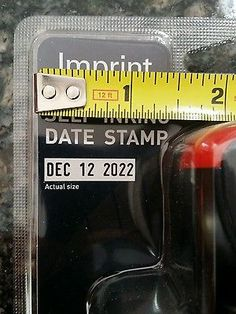 Imprint 8746 Date Stamp Self-Inking easy refill easy to use