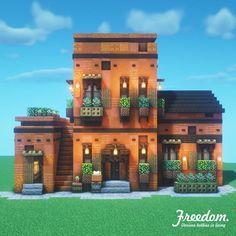 Minecraft House Plans, Minecraft Farm, Minecraft Mansion, Easy Minecraft Houses, Minecraft House Tutorials, Minecraft Castle, Minecraft House Designs, Minecraft Construction, Amazing Minecraft