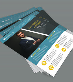 free psd files download design photoshop resources business flyer templates
